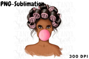 Sublimation File   Pink Bubble Png Graphic Illustrations By Tanya Kart