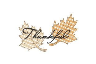 Thankful Autumn Embroidery Design By NinoEmbroidery