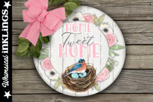 Home Tweet Home Graphic Illustrations By Whimsical Inklings