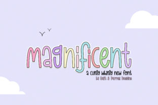 Print on Demand: Magnificent Duo Display Font By Salt and Pepper Fonts