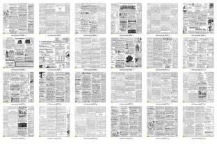 Print on Demand: Old Newspaper Textures Graphic Textures By Digital Curio 3