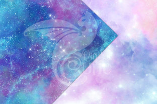 Print on Demand: Painted Galaxy Textures Graphic Textures By Digital Curio 2