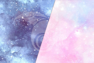 Print on Demand: Painted Galaxy Textures Graphic Textures By Digital Curio 3