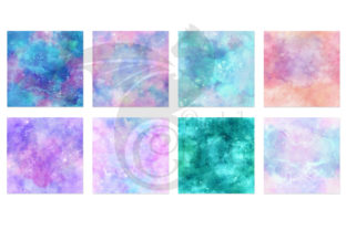Print on Demand: Painted Galaxy Textures Graphic Textures By Digital Curio 4
