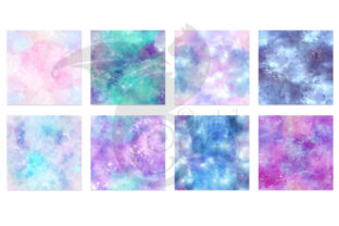 Print on Demand: Painted Galaxy Textures Graphic Textures By Digital Curio 5