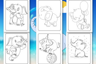 Print on Demand: Elephant Coloring Book for Kids Graphic Coloring Pages & Books Kids By Tixxor-Global