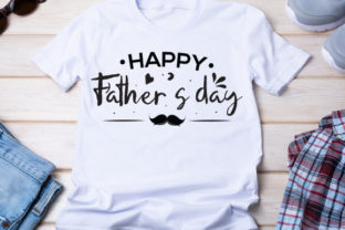 Happy Father's Day Graphic Print Templates By Typo Creaty