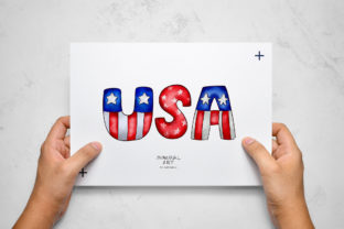 Print on Demand: Patriotic Gnomes Clipart SVG 4th July Graphic Illustrations By Momixzaa 6