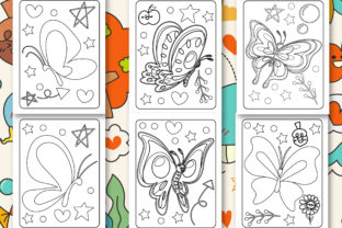 Print on Demand: Butterfly Coloring Book for Kids Graphic Coloring Pages & Books Kids By Tixxor-Global