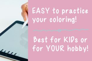 Cute Coloring Page - Unicorn_Just_Fly Graphic Coloring Pages & Books Kids By jennythip 4