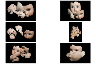 Print on Demand: 113 Broken Halloween Horror Doll Parts Graphic People By squeebcreative 11