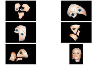 Print on Demand: 113 Broken Halloween Horror Doll Parts Graphic People By squeebcreative 13
