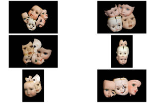 Print on Demand: 113 Broken Halloween Horror Doll Parts Graphic People By squeebcreative 18