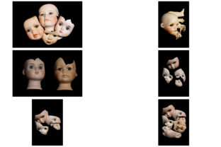 Print on Demand: 113 Broken Halloween Horror Doll Parts Graphic People By squeebcreative 19