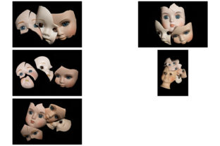 Print on Demand: 113 Broken Halloween Horror Doll Parts Graphic People By squeebcreative 2