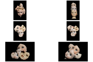 Print on Demand: 113 Broken Halloween Horror Doll Parts Graphic People By squeebcreative 20