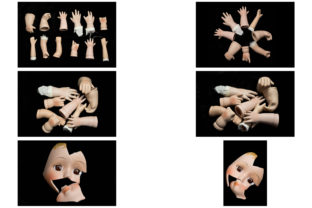 Print on Demand: 113 Broken Halloween Horror Doll Parts Graphic People By squeebcreative 4