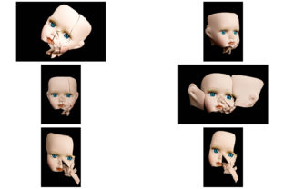 Print on Demand: 113 Broken Halloween Horror Doll Parts Graphic People By squeebcreative 6