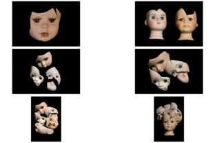 Print on Demand: 113 Broken Halloween Horror Doll Parts Graphic People By squeebcreative 9