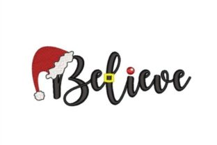 Believe in Santa Christmas Embroidery Design By NinoEmbroidery
