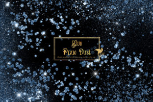 Print on Demand: Blue Pixie Dust Overlays Graphic Illustrations By Digital Curio