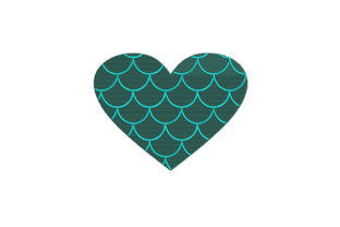 Digital Mermaid Scales Camping & Fishing Embroidery Design By DigitEMB