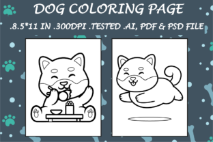 Dog Coloring Page 11 - Kdp Interiors Graphic Coloring Pages & Books Kids By Kdp Speed