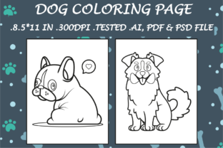 Dog Coloring Page 14 - Kdp Interiors Graphic Coloring Pages & Books Kids By Kdp Speed