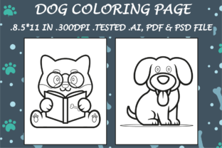 Dog Coloring Page 15 - Kdp Interiors Graphic Coloring Pages & Books Kids By Kdp Speed