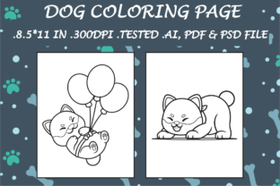 Dog Coloring Page 2 - Kdp Interiors Graphic Coloring Pages & Books Kids By Kdp Speed