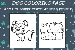 Dog Coloring Page 4 - Kdp Interiors Graphic Coloring Pages & Books Kids By Kdp Speed