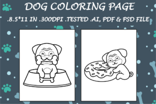 Dog Coloring Page 5 - Kdp Interiors Graphic Coloring Pages & Books Kids By Kdp Speed