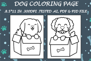 Dog Coloring Page 6 - Kdp Interiors Graphic Coloring Pages & Books Kids By Kdp Speed