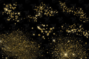 Print on Demand: Gold Pixie Dust Overlays Graphic Illustrations By Digital Curio 3