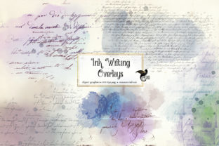 Print on Demand: Ink Writing Overlays Graphic Illustrations By Digital Curio 1