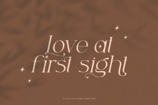 Print on Demand: Lovers in London Serif Font By Salt and Pepper Fonts 4