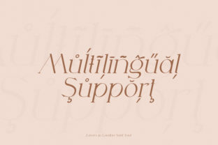 Print on Demand: Lovers in London Serif Font By Salt and Pepper Fonts 7