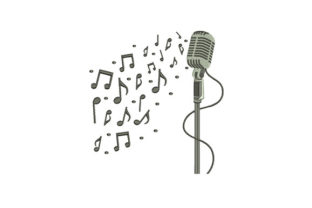 Music Music Embroidery Design By DigitEMB