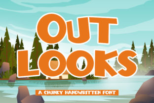 Print on Demand: Outlooks Display Font By Arendxstudio