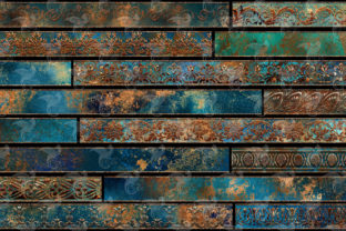 Print on Demand: Patina Borders Clipart Graphic Illustrations By Digital Curio 2