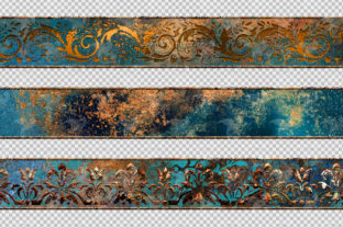 Print on Demand: Patina Borders Clipart Graphic Illustrations By Digital Curio 3