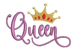 Queen Fairy Tales Embroidery Design By Embroidery Designs