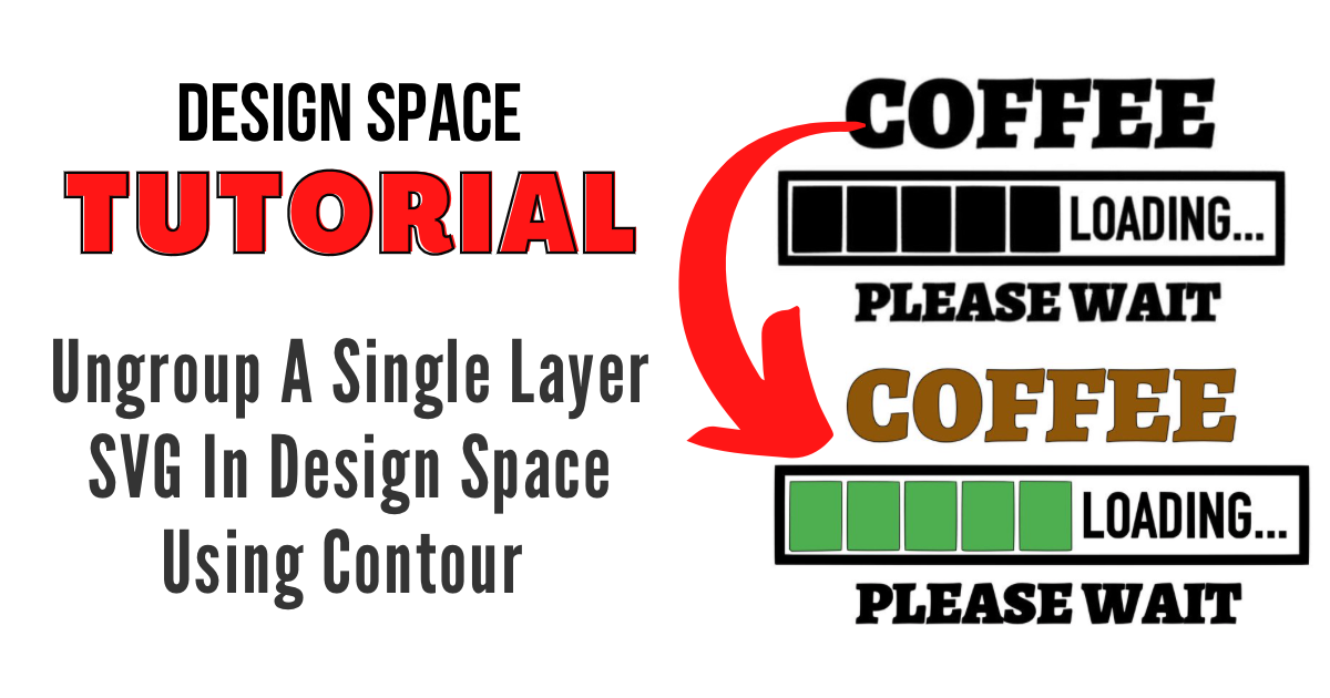How To Ungroup A Single Layer SVG File in Design Space main article image