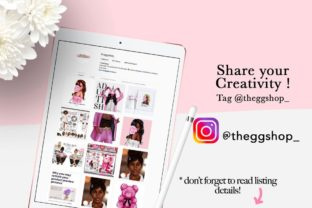 Print on Demand: Afro Summer Curvy Girls Cliparts Graphic Illustrations By TheGGShop 10