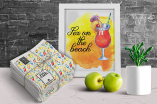 Cocktails Watercolor Clipart Graphic Illustrations By rembrantd.ulya 8