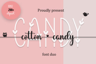 Print on Demand: Cotton Candy Decorative Font By Fillo Graphic