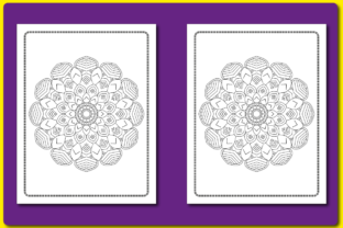 MANDALA COLORING PAGES for KIDS V.59 Graphic Coloring Pages & Books Kids By triggeredit 2