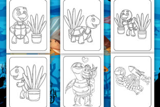 Print on Demand: Turtle Coloring Book for Kids Graphic Coloring Pages & Books Kids By Tixxor-Global