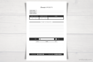 Print on Demand: Working from Home   Business Planner. Graphic KDP Interiors By artsbynaty 5