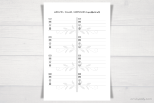 Print on Demand: Working from Home   Business Planner. Graphic KDP Interiors By artsbynaty 7